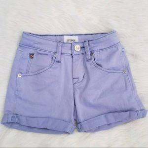 Hudson Jeans Lilac Purple Rolled Shorts Sz 8